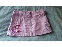My Little Pony baby purple skirt 12-18m