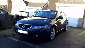 MUST SEE Honda Accord Metallic Blue 2.4 EX Excellent Condition Full Leather Interior PRICE REDUCED