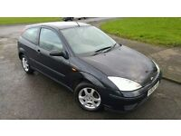 2004 Ford Focus 1.6 Petrol 3 Door Manual - MOT September 2017 - 111208 Genuine Miles