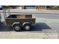 Twin axle trailer 6'x4'