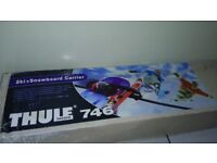 Thule ski +snowboard holders in very good condition boxed!Can deliver or post!
