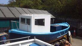fibreglass fishing boat project