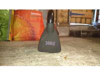 20kg Kettlebell (single)