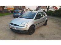 For sale Ford Fiesta 04 plate 1.2 petrol MOT September full V5 cheap tax cheap insurance