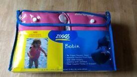 ZOGGS AGE 4 TO 5 BOUYANCY AID BOBIN BRANDED EXCELLENT SWIM FLOAT USED FOR ONE HOLIDAY