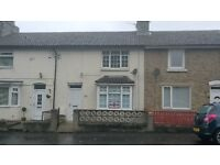 10 South Road Toft Hill 2 Bedroom house to rent £360 per month - combi boiler, new carpets, clean