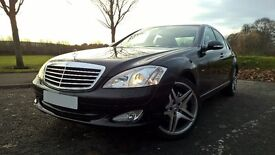 09/59 MERCEDES S320 CDI IN GLEAMING BLACK LOW MILES SERVICE HISTORY