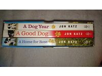 Box Set of 3 Dog Books by John Katz