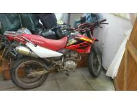 Honda xr 125 2008 swap for bigger quad/bike