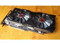 Asus GTX 970 4GB DC2OC factory overclocked graphics card - excellent condition