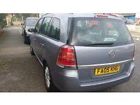 2005 Vauxhall Zafira 1.6 Petrol 7 Seater