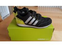 Adidas Childrens Trainers with Velcro Fastening UK Size 13.5 EUR 32.5