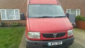 Vauxhall Movano minibus 15 seat