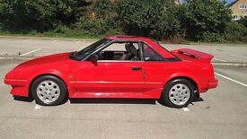 1989 G TOYOTA MR2 MK1 1.6 CLASSIC AW11 84K Miles- -EXCEPTIONAL CONDITION- NO RUST -FSH