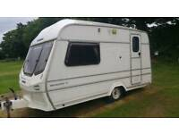 Lunar 2 berth caravan with full awning in very good condition