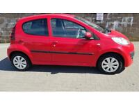 PEUGEOT 107 1.0 Active 5dr (Zero Tax) Very Low Running Costs FSH + Warranted (red) 2012