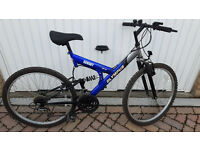 Summit Olympus mountain bike with front and rear suspensions £50