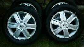 Renault megane Grand Scenic II alloy wheels