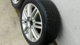 Renault clio alloys and tyres