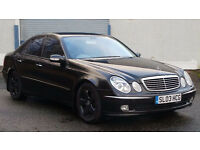 2003 03 MERCEDES E270 CDI AVANTGARDE 1 OWNER FROM NEW GENUINE LOW 78K MILES WITH FSH