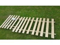 Wooden chair/bed frame for sale