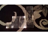 4 Glass paper weights for sale  Cambridgeshire
