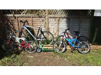 Bikes for sale. 4 bikes and two scooters £20