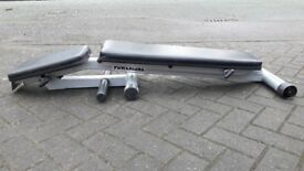 POWERLINE HEAVY DUTY FOLDABLE WEIGHTS BENCH - Incline - Decline -Flat