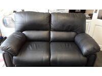 Luxury Faux Leather Sofa