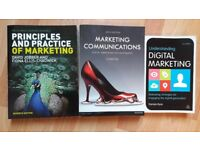 Marketing books for sale