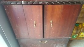 Brown sideboard unit
