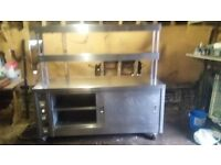 Second hand hot cuboard/carvery unit