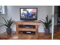 Solid wood living room furniture (coffee table, tv unit and sideboard
