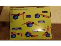 Exercise Ball. Never used. Still in original box.
