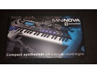 As New Novation MiniNova Synth