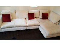 Stunning immaculate large corner couch sofa