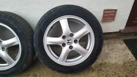 Honda 16inch Alloys Wheels.