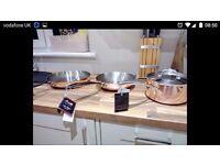 Coper 3ply pans