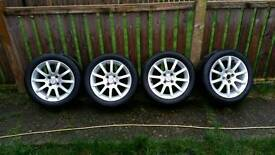 For sale alloys wheel 4×100 frome toyota yaris.