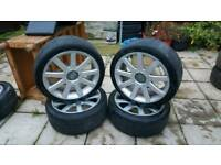 Audi TT rs4 alloy wheels 18 inch