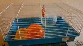 Hamster cage pet gerbil accessories