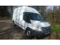Ford transit lwb high roof ,ideal for camper only £4995 ono new engine fitted recent