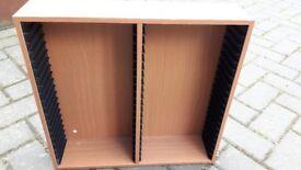 Hama Beech Wood DVD Storage Units
