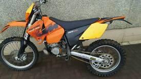 ktm 200 exc road legal 2004