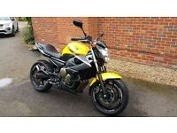 Yamaha XJ6, in Desirable Yellow, Great Condition and Perfect First Bike- 12 Month MOT