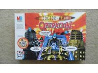 DOCTOR WHO OPERATION - USED BUT IN AS NEW CONDITION