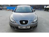 SEAT LEON 1.9 TDI STYLANCE 5dr DIESEL, 2007, FULL SERVICE HISTORY, NEW MOT, CAM BELT CHANGED