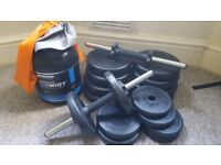 Weights and whey supper offer!!!