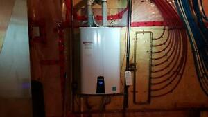 Propane Tankless Water Heater Clearence