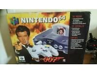 N64 golden eye boxed
